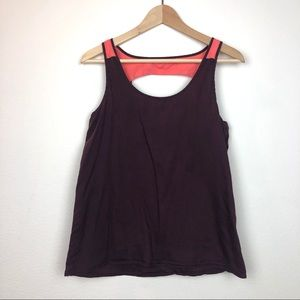 Patagonia Two-Tone Open Back Tank Top